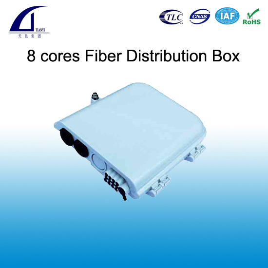 8 cores Fiber Optical Distribution Box