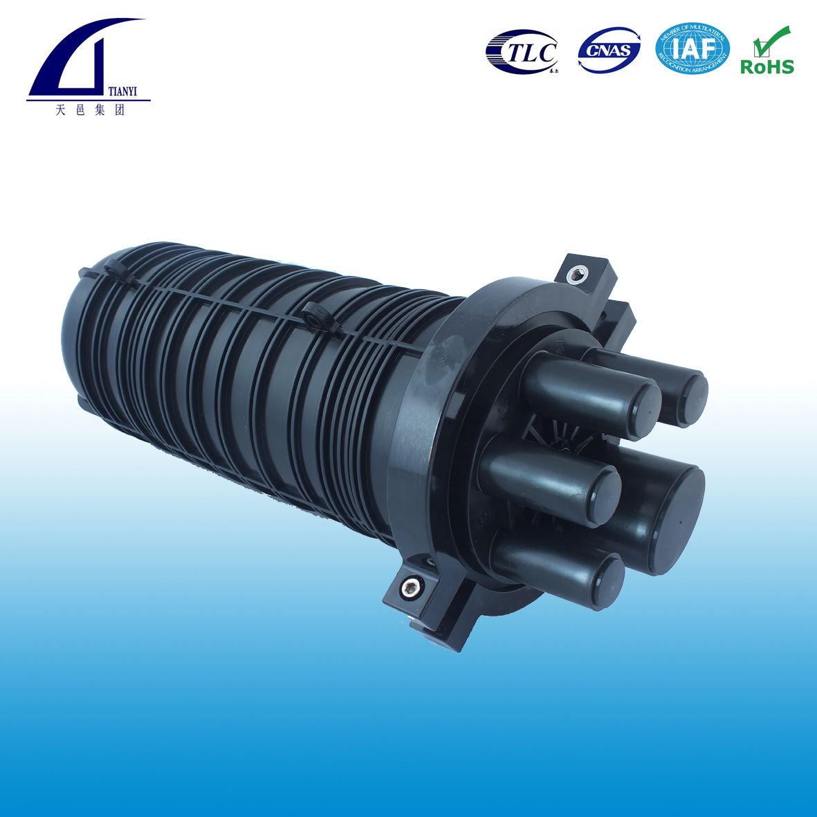 dome type fiber optic splice closure
