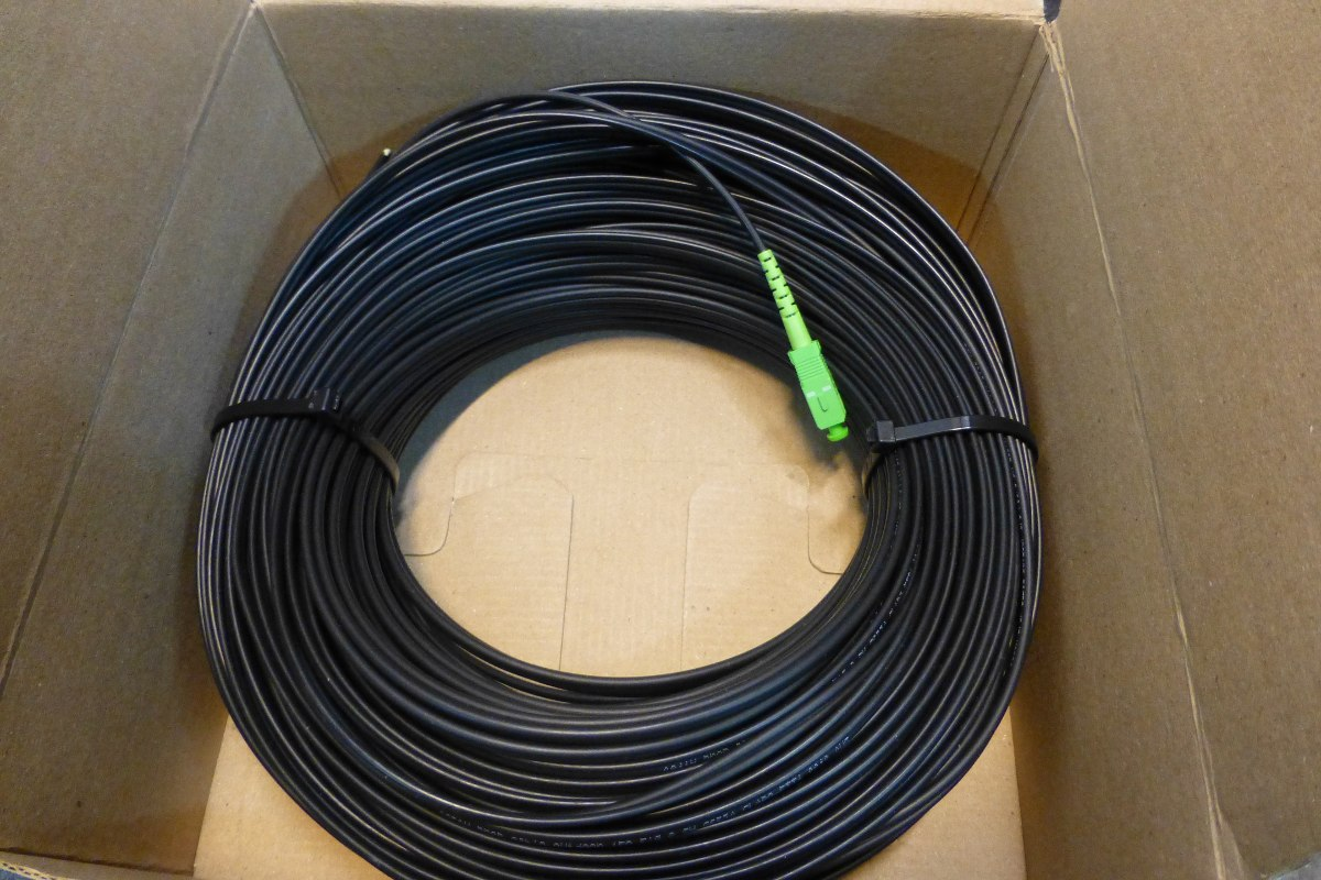 SC/UPC fiber patch cable assembly