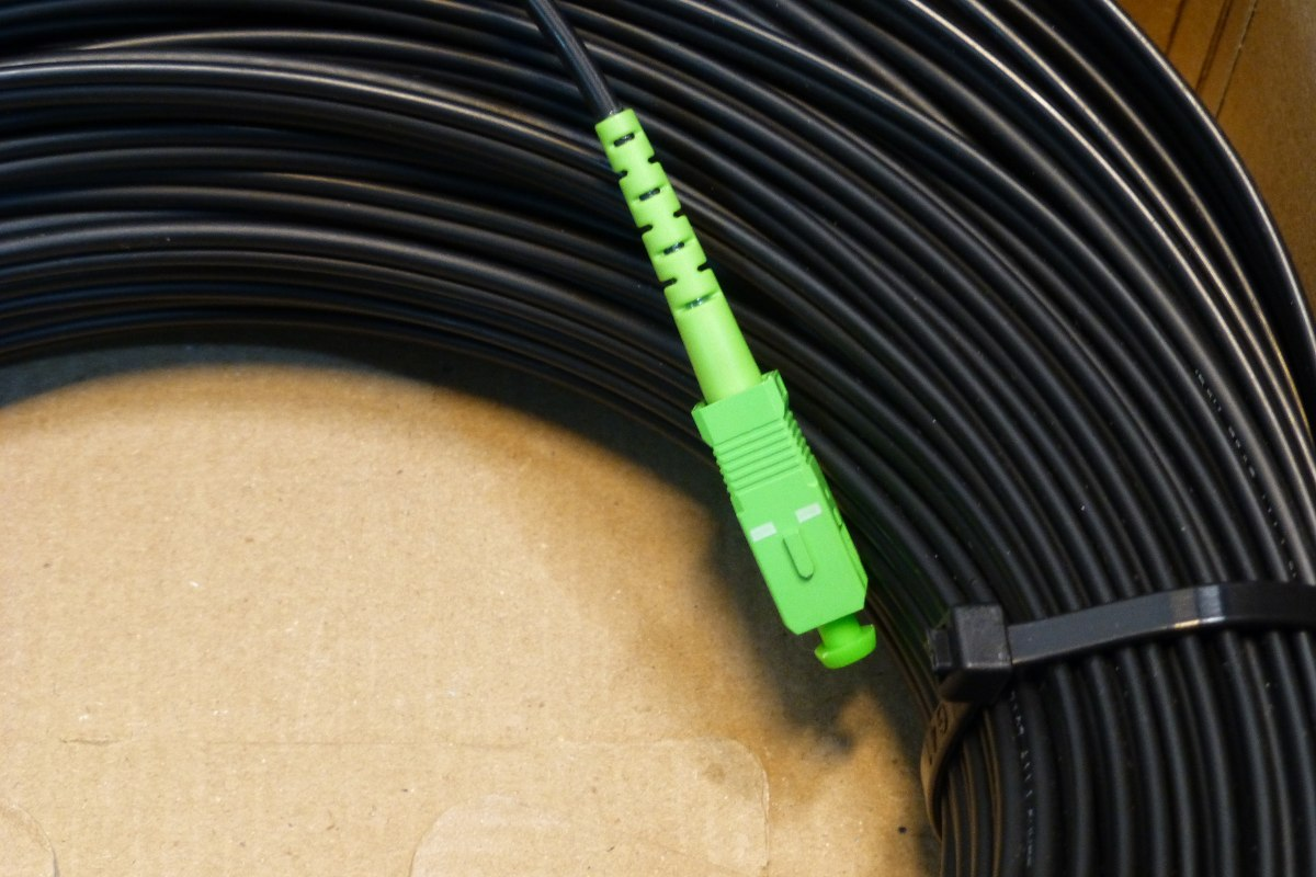 FTTH SC/UPC fiber patch cable assembly